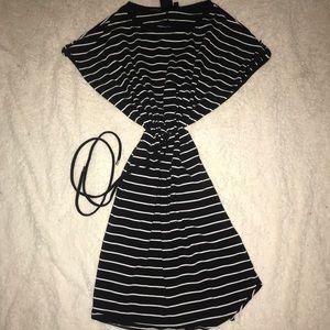 Lack striped dress